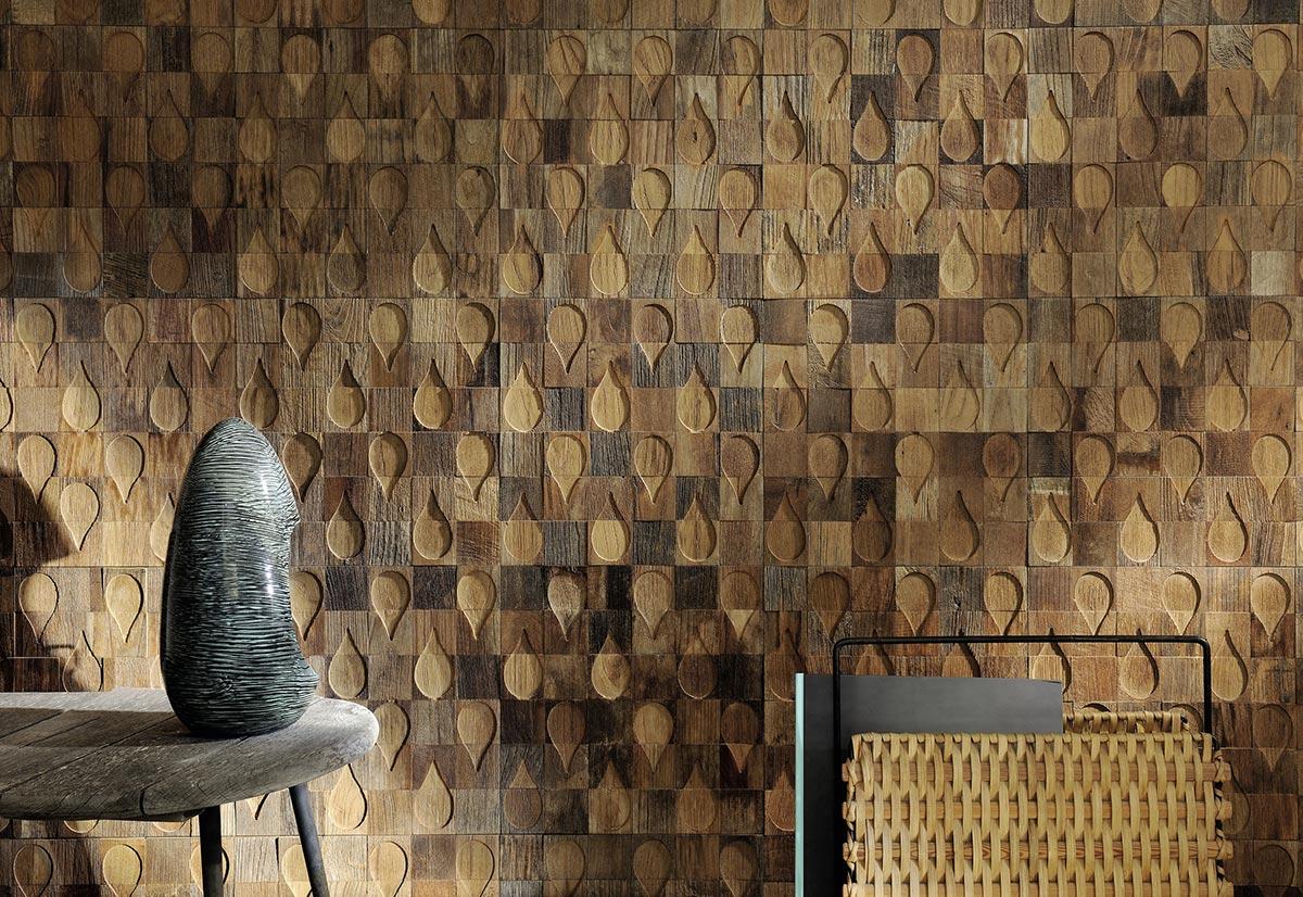 חיפוי קיר Elitis עץ